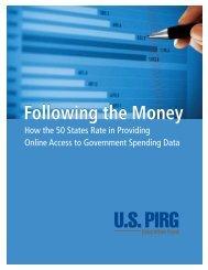 Following the Money - Public Interest Network