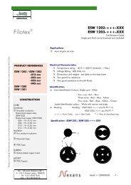 Filotex® - Nexans