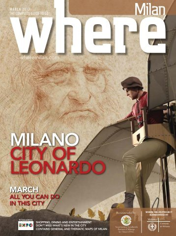 MILANO CITy OF LEONARDO - Where Milan