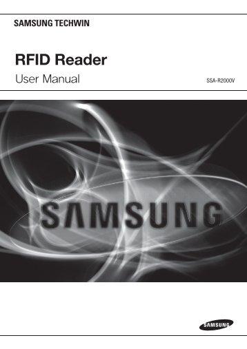 RFID Reader - Samsung CCTV