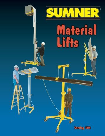 Sumner Material Lifts - Dixie Construction Products