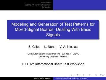 BTW07-Presentation 2.. - Board Test Workshop Home Page
