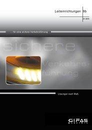 Produktinformation LED Leiteinrichtungen - GIFAS W.J. Gröninger ...