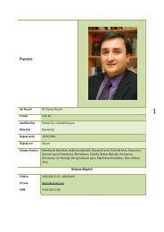 Prof.Dr.Tuncay Duruöz - Tıp Fakültesi - Celal Bayar Üniversitesi