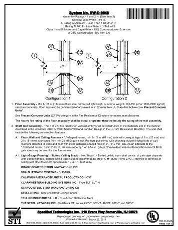 HW-D-0646 - STI - Specified Technologies Inc