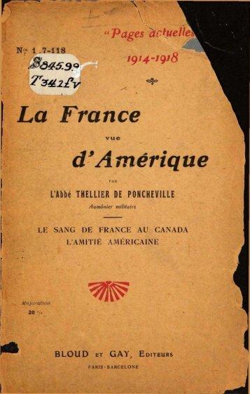 La France vue d'Amérique