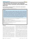 Trade-Off between Bile Resistance and Nutritional ... - HAL - INSERM - Page 3