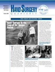 Summer - American Association for Hand Surgery
