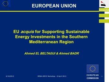 European Union Presentation - Ceeba