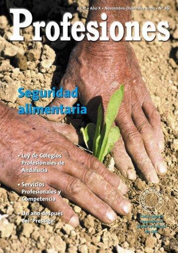 Seguridad alimentaria Seguridad alimentaria - Revista Profesiones