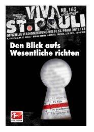 heLLs BeLLs unD aux armes Das Pusht mich totaL - FC St. Pauli