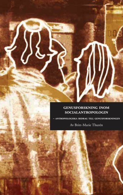 Genusforskning inom socialantropologin