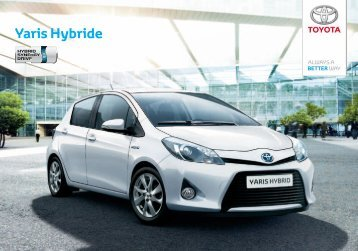 To experience the Yaris or for more information ... - sites Toyota