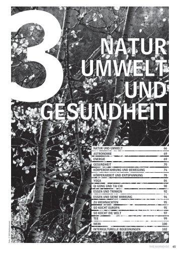HS 12 Natur, Umwelt und Gesundheit - Volkshochschule Hannover