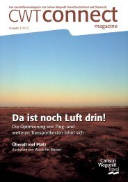 CWT Connect Magazine Ausgabe 03-2012