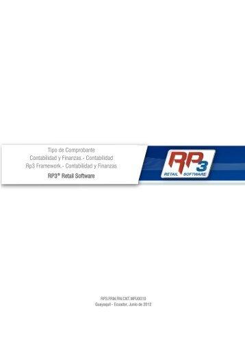 Tipo de Comprobante - RP3 Retail Software
