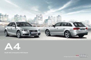 Audi A4 Limousine/A4 Avant