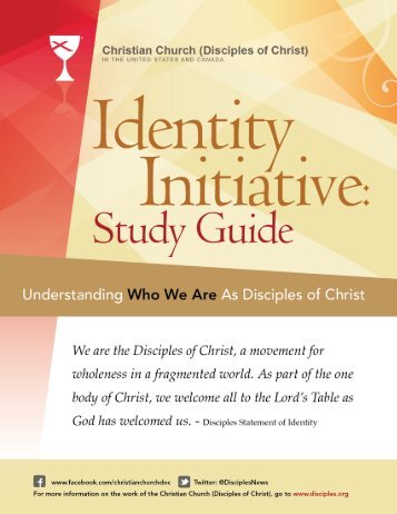 Identity Initiative: Study Guide - Christian Church (Disciples of Christ)