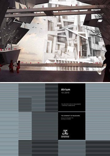 May - Faculty of Architecture, Building and Planning - University of ...