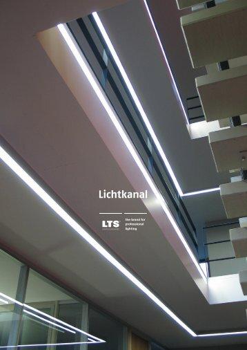 Installation overview Lichtkanal - Modus Lighting