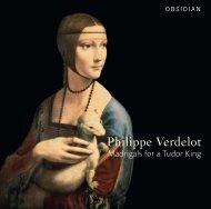 CD703 Verdolet book - Chandos