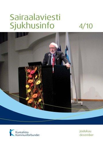 Sairaalaviesti 4/2010 - Kunnat.net