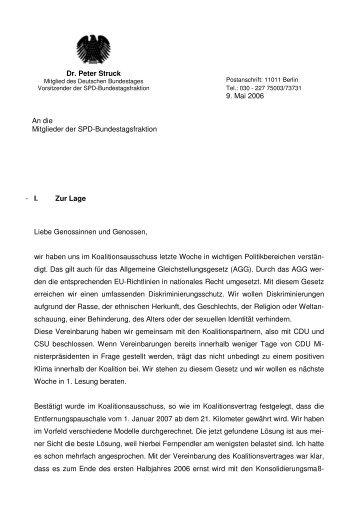 2006-05-09_Politischer Bericht - Petra Hinz