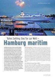 Tolles Setting: Hamburg maritim - Convention-International