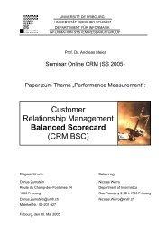 Customer Relationship Management Balanced Scorecard (CRM BSC)