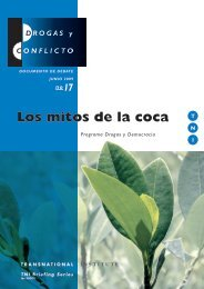 Los mitos de la coca - Transnational Institute