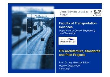 Architecture & Standardisation