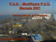 P.U.D. - Modificare P.U.D. Mamaia 2001