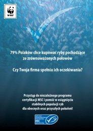 79% Polaków chce kupować ryby pochodzące ze ... - WWF