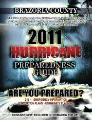 Hurricane Preparedness Guide - City Of Clute, Texas