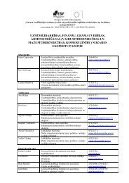 uzņēmējdarbības, finanšu, grāmatvedības, administrēšanas