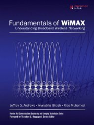 Praise for Fundamentals of WiMAX