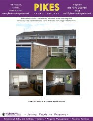 marsden close, welwyn garden city, al8 6ye asking price ... - Pikes