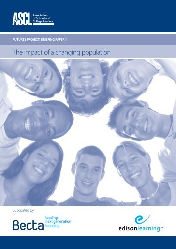 The impact of a changing population - ASCL