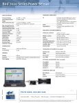 Bird 7020 Series Power Sensor - HYTEM - Page 2