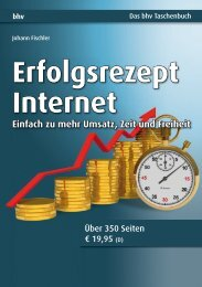 Erfolgsrezept Internet : Kapitel 1 - Mitp