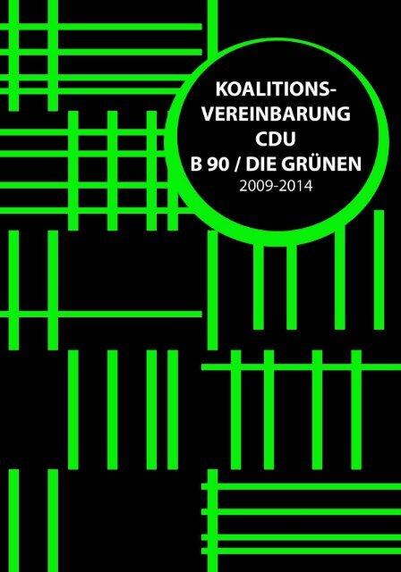 Koalitionsvereinbarung CDU & Grüne - CDU-Kreisverband Bonn