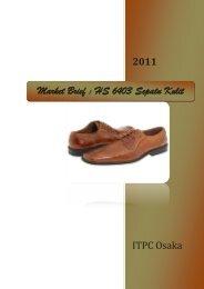 Market Brief : HS 6403 Sepatu Kulit - ITPC Osaka