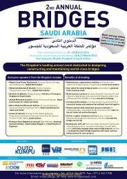 Bridges Saudi Arabia - architects24.com