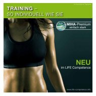 MiHa-EMS-Training - life competence | Gesundheitsclub