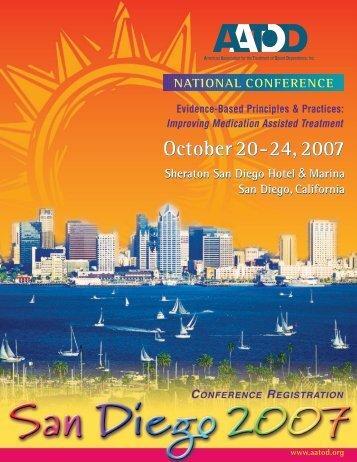 AATOD 2007 Conference Registration Brochure