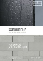PLANNING & APPLICATION GUIDE - Eternit