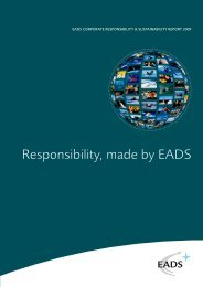 EADS Corporate Responsibility & Sustainability ... - Le Pacte Mondial