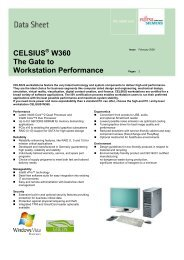 CELSIUS W360 The Gate to Workstation Performance - Visualis