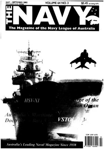 The Navy Vol_64_Part2 2002 - Navy League of Australia