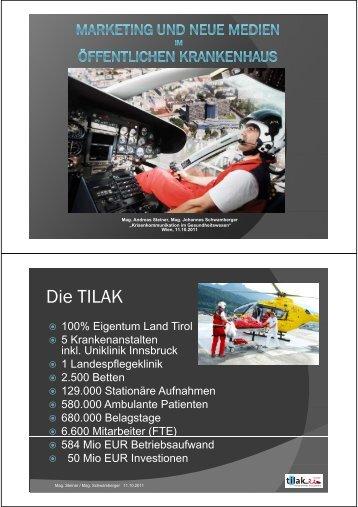Die TILAK - med-value